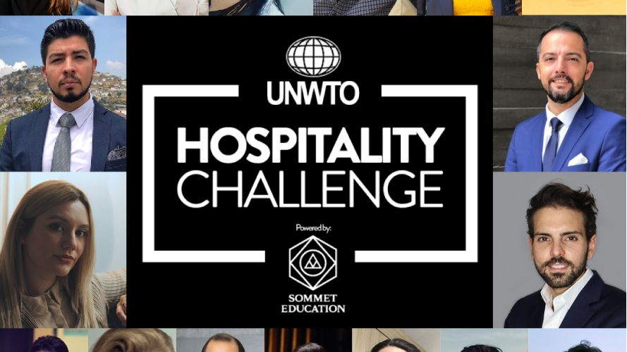 UNWTO x Sommet Education Hospitality Challenge Finalists Announced